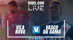 Resultado Vila Nova 1x2 Vasco na Copa do Brasil 2017
