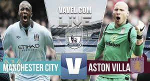 Resultado Manchester City vs Aston Villa en la Premier League 2015 (3-2)