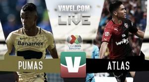 Atlas no gana en CU y Pumas se va a los líderes del torneo