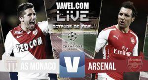Live Monaco - Arsenal, diretta risultato Champions League