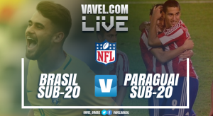 Jogo Brasil x Paraguai no Sul-Americano Sub-20