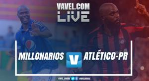 Atlético-PR perde para o Millonarios no tempo normal, mas vence nos pênaltis e se classifica