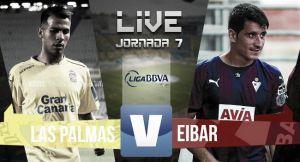 Resultado Las Palmas vs Eibar (0-2)