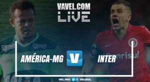 Resultado América-MG x Inter no Campeonato Brasileiro Série B 2017 (1-1)