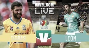 A costa de León, Tigres es el primer finalista del torneo