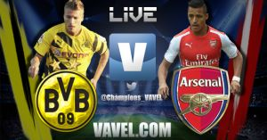 Live Borussia Dortmund vs Arsenal, diretta Champions League