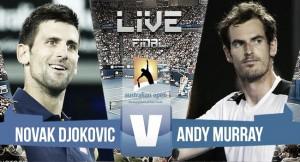 Resultado del Djokovic vs Murray en final Open Australia 2016 (3-0)