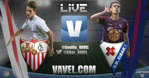 Sevilla vs Eibar, en vivo y en directo online