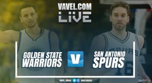 Resultado de Golden State Warriors x San Antonio Spurs nos playoffs da NBA (136-100)