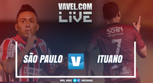 Resultado São Paulo x Ituano  no Campeonato Paulista (1-1)
