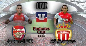 Live Emirates Cup : Arsenal vs Monaco en direct