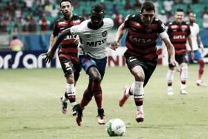 Resultado Atlético-GO x Bahia na Série B 2016 (2-1)