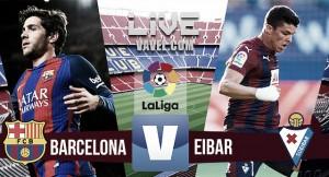 Resumen Barcelona vs Eibar (4-2)