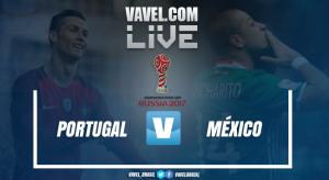 Resultado Portugal x México na Copa das Confederações 2017 (2-2)