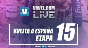 Resultado de la décimo quinta etapa de la Vuelta a España 2017: 'Superman' López vuelve a demostrar fuerza