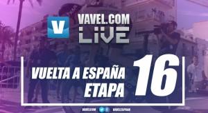 Resultado de la decimosexta etapa de la Vuelta a España 2017: Segunda victoria de Froome