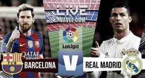 Resumen FC Barcelona 1-1 Real Madrid en La Liga 2016