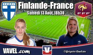 Live Qualifications Coupe du Monde féminine : Finlande vs France en direct