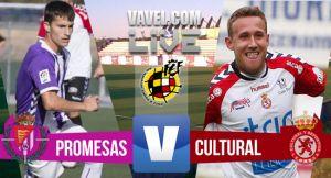 Resultado Real Valladolid Promesas vs Cultural (0-0)