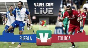 ResultadoPuebla vs Toluca en la Liga MX 2015 (0-1)
