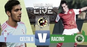 Resultado del Celta de Vigo B - Racing de Santander en Segunda División B