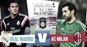 Resultado Real Madrid vs Milan en amistoso 2015 (0-0)