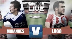 Mirandés y Lugo salen invictos de Anduva (2-2)