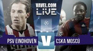 Resultado PSV Eindhoven - CSKA de Moscú (2-1): la alegría volvió a tierras holandesas