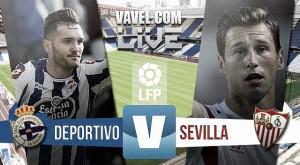 Resultado Deportivo de la Coruña - Sevilla en Liga 2015 (1-1)