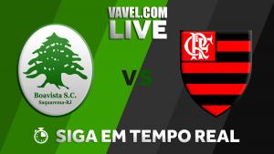 Resultado Boavista 0x3 Flamengo pelo Campeonato Carioca