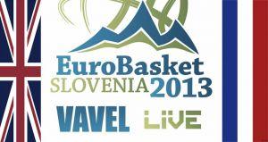 Eurobasket 2013: Gran Bretaña – Francia, así lo vivimos