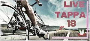 Live Giro d'Italia 2017, 18^ tappa Moena-Ortisei in diretta: tutti insieme sul Pontives