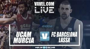 Resumen UCAM Murcia vs FC Barcelona Lassa en Liga Endesa 2018 (55-61)