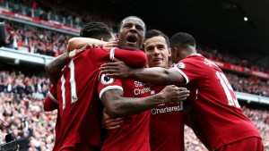 Premier League - Goleade per City e Liverpool, che volano in Champions