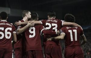 Liverpool, 3 punti e testa del girone