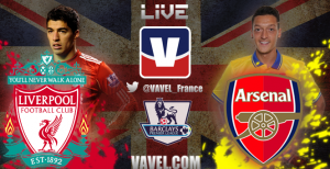 Live Liverpool - Arsenal, le match en direct