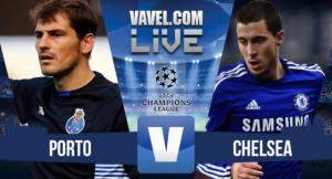 Resultado Porto vs Chelsea en la Champions League 2015 (2-1)