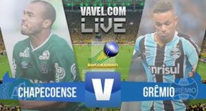 Resultado Chapecoense x Grêmio no Campeonato Brasileiro 2017 (3-6)