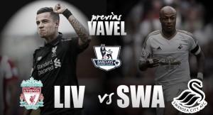 Liverpool vs Swansea City: estilos similares; momentos opuestos