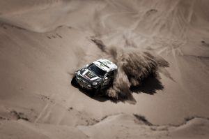 Reacciones de los pilotos de coches y camiones tras la 12ª etapa del Dakar