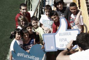 Los participantes de la Villarreal Futsal Cup visitan 'El Madrigal'