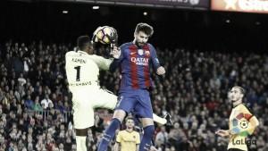 El Málaga, reincidente en dejar en blanco al Barcelona