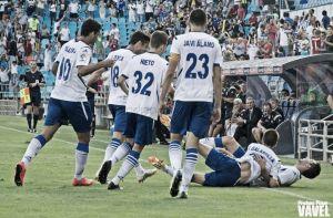 Borja Bastón vuelve a regalar otra victoria al Zaragoza