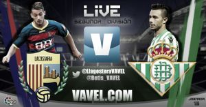 Llagostera vs Real Betis en directo online