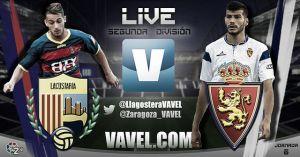 Llagostera - Real Zaragoza, en directo online