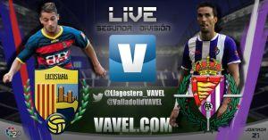 UE Llagostera - Real Valladolid en directo online (2-0)