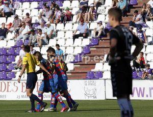 Real Valladolid - UE Llagostera: puntuaciones del Real Valladolid, jornada 42