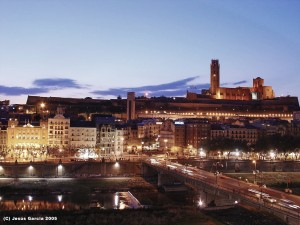 Inicio y fin de etapa en Lleida