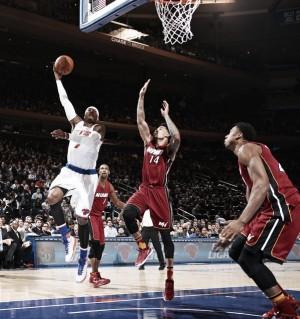 Miami arrasa a los Knicks en el MSG