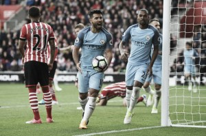 City domina Southampton, volta a vencer fora de casa e assume o terceiro lugar da Premier League